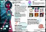 Monster High OC:Ocianna Angler