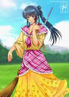 Her Favorite 'Baro't Saya' Dress. by rae-shi