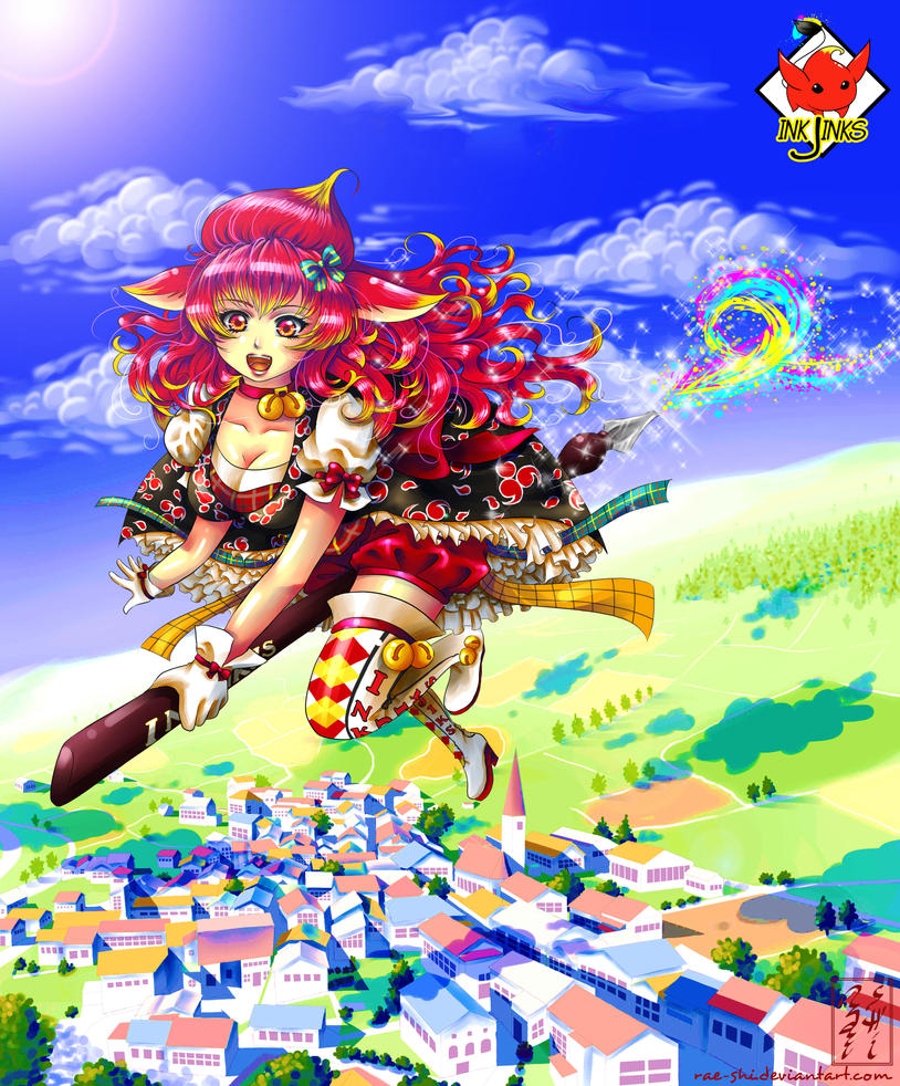 Fly Injinka Fly! by rae-shi