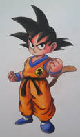 Kid Goku by cavaloalado