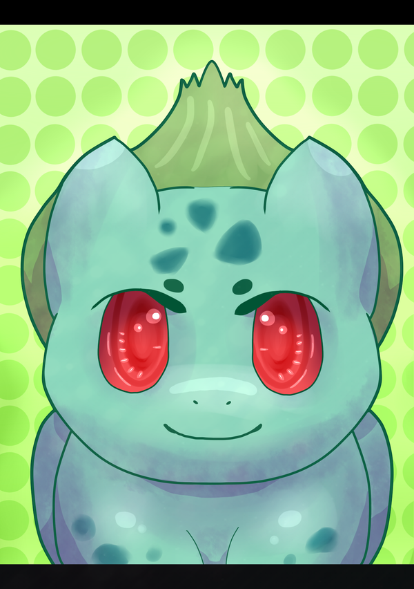 DevCon Collab. Necklace Prints: 2/5 - Bulbasaur by Dekkii
