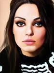 Digital Painting: Mila Kunis
