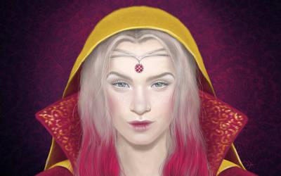 Digital Painting: Ruby by skARTistic