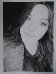 Portrait of a Friend: Sabrina. 2014. by skARTistic