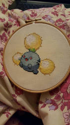 Jumpluff Cross Stitch