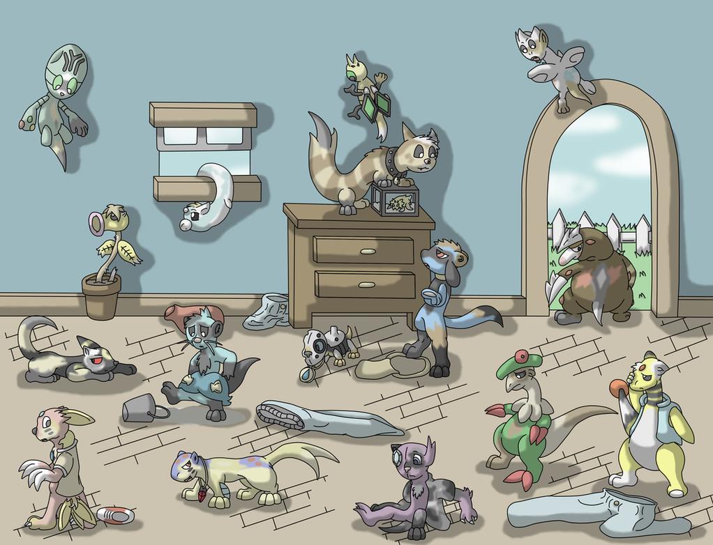 Pokemon Transformations by Weazel75
