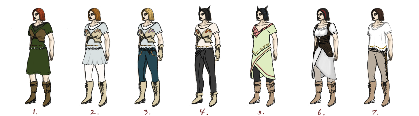 Outfit Concepts_KG_01 by Daverex