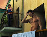 The neighbor-El vecino by sithlordsims
