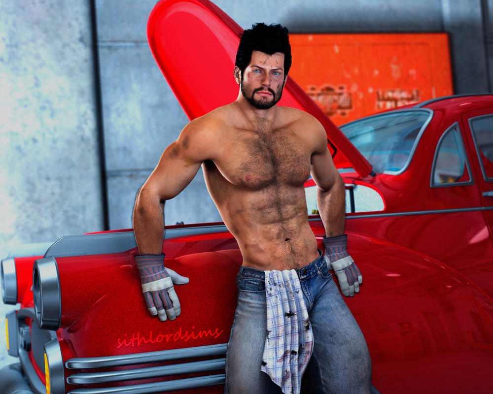 The mechanic by sithlordsims