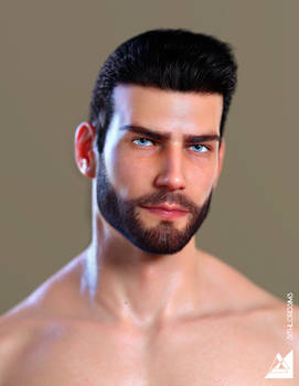 Michael 8 Morphed Portrait