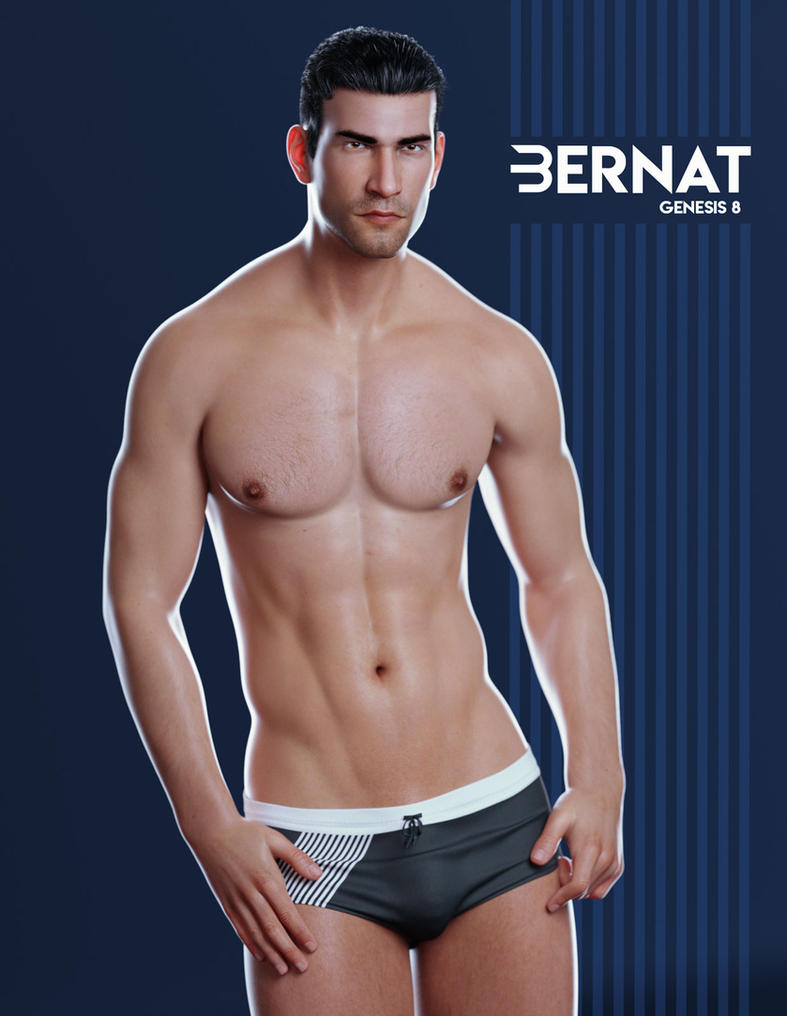 Bernat for Genesis 8 Male by sithlordsims
