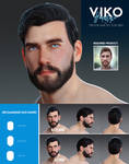 FREEBIE Viko Hairstyle for Trevor Hair Set for G8M