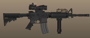 Mid-Late Afghanistan US Marine Corps M4A1