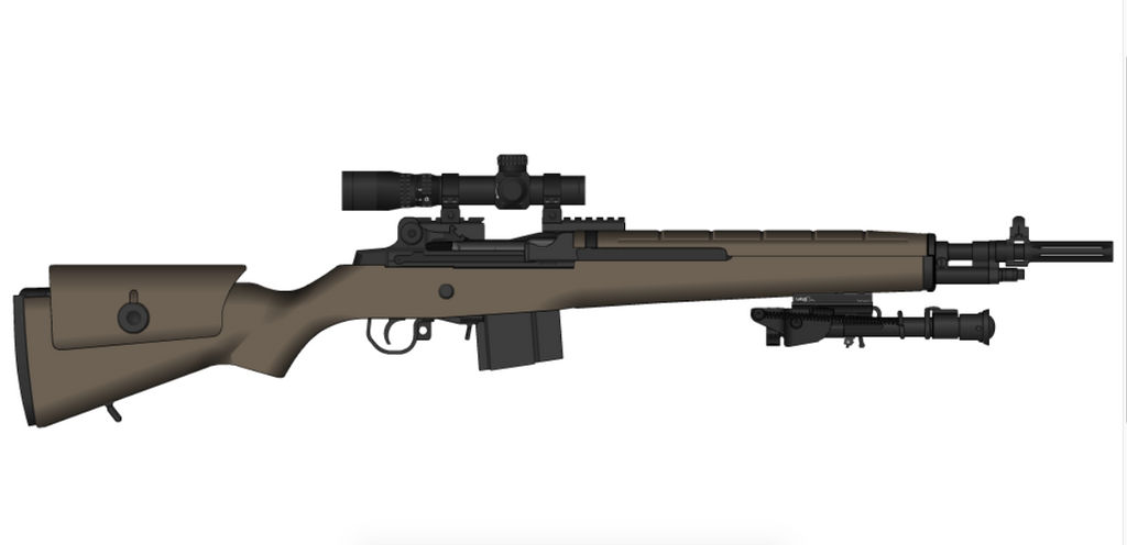 California Compliant M1A by madmonty98 on DeviantArt