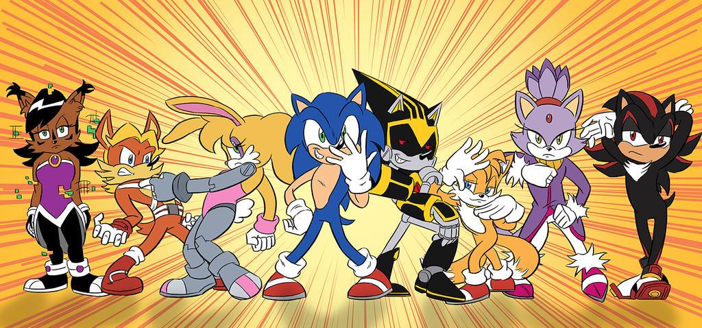 Sonic S Bizarre Adventure By Chauvels On Deviantart