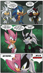 Sonic Rose Comic Strip by Chauvels