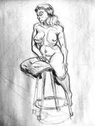 Life Drawing 102 by Chauvels