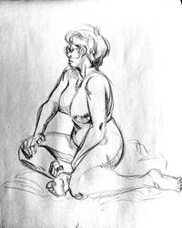Life Drawing 103 by Chauvels