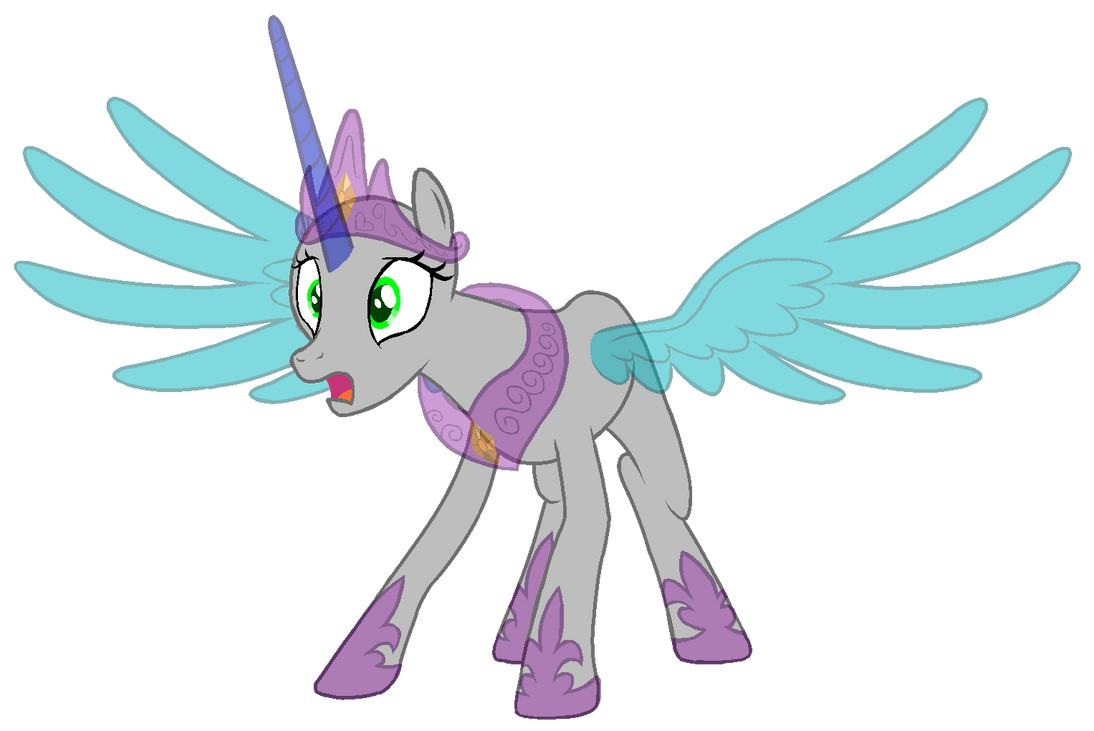 Mlp Alicorn Base: MLP:FiM Base #2 P.Celestia By System-Destroyer On DeviantArt