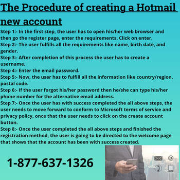 To create a new Hotmail account by KathleenJKennedy