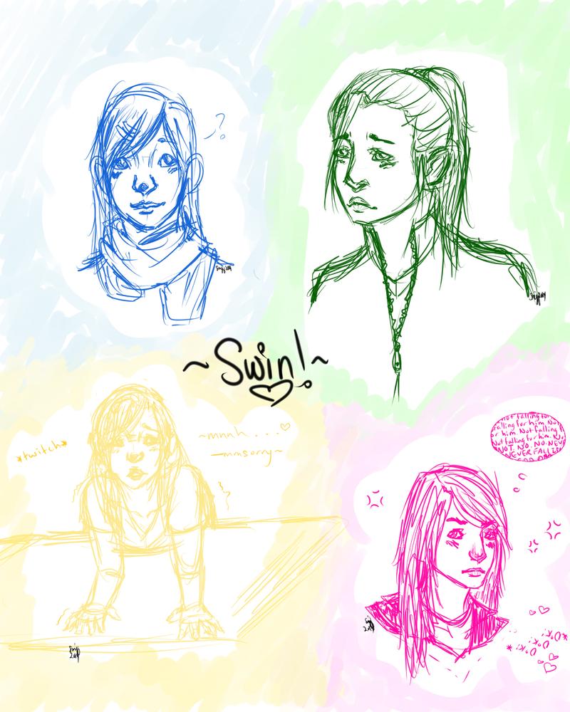 ~Swinny Sketch Dump!~ by thematchgirl327