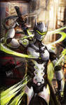 Fanarts:Genji from Overwatch