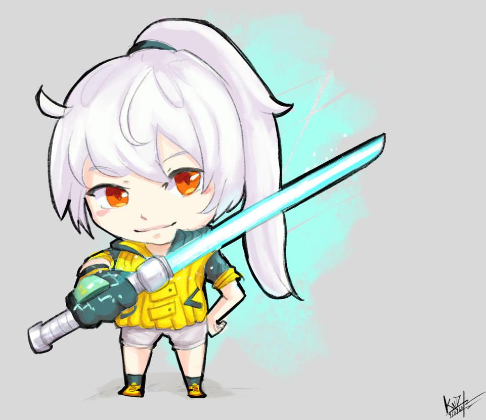 OriginalCharacter-Alna [JibiStyle] by KamiwaiZu