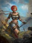 The Warrior Class by KamiwaiZu