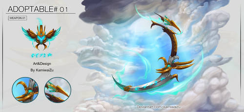 [Closed!!] Adoptable#01|Weapon +Symbol [Auction]