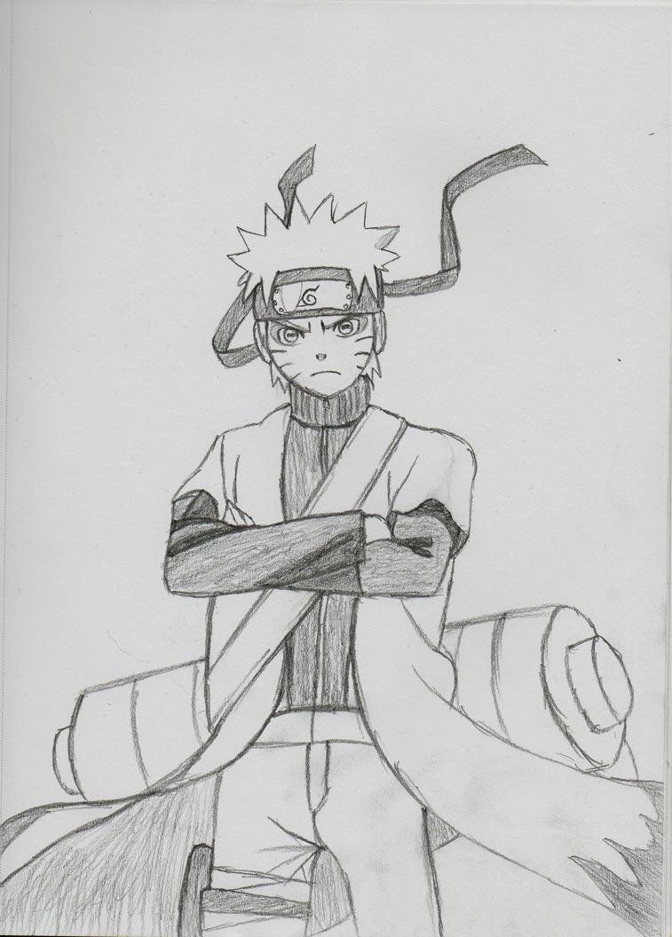 Naruto Uzumaki Sage Mode by Manlyankles11 on DeviantArt