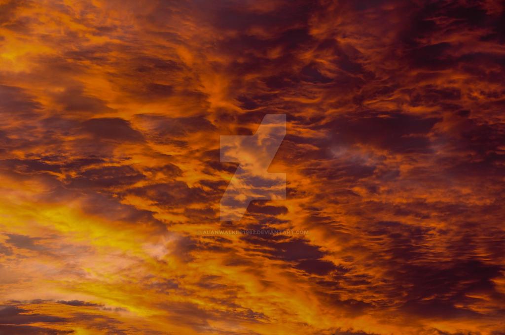 Fire sky by alanwalker1962