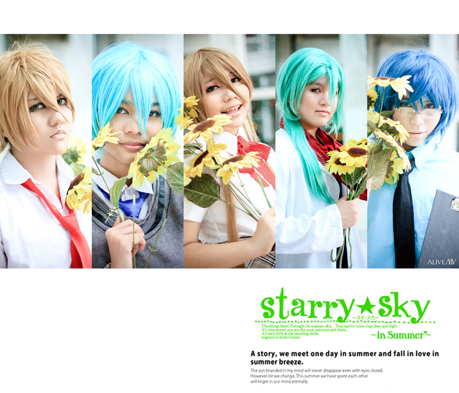 Starry Sky: Summer Breeze. by solatomato