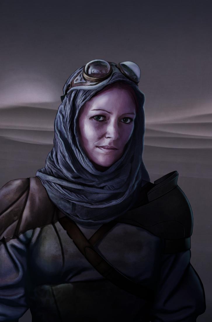 The Desert Runner by HansNomad