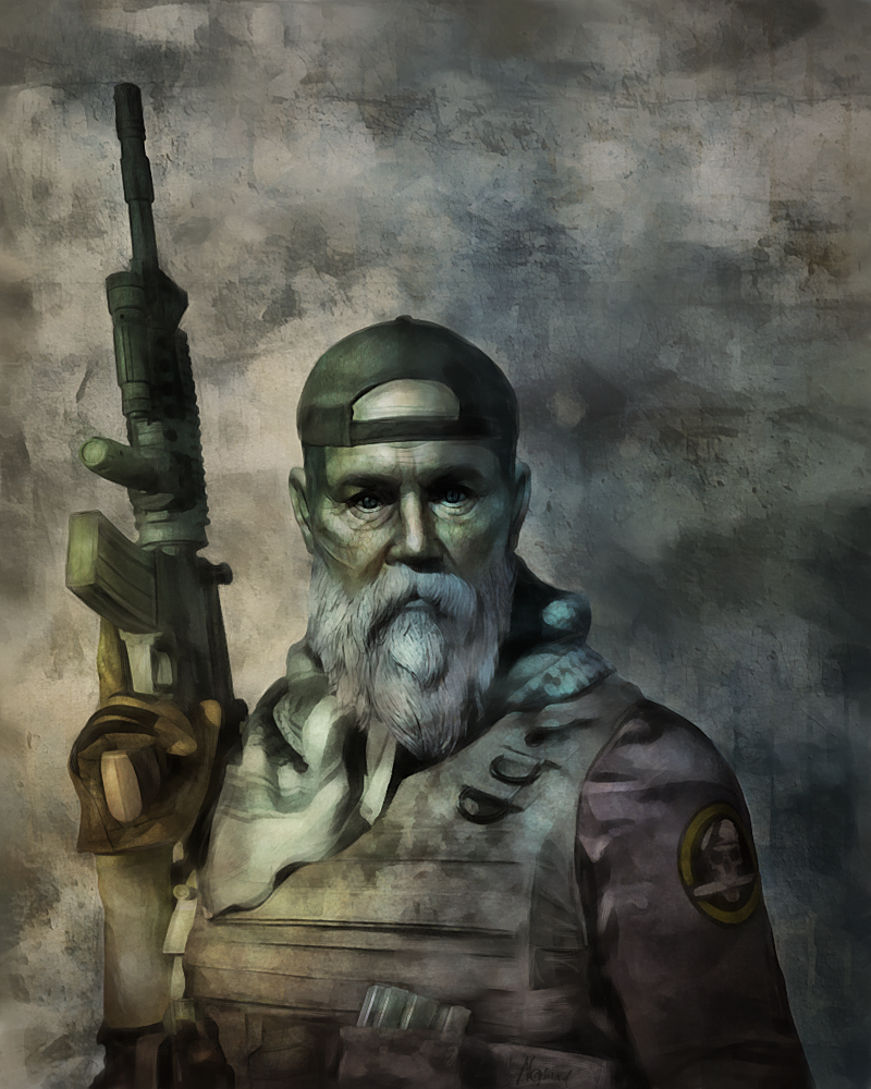 Soldier of Fortune by HansNomad