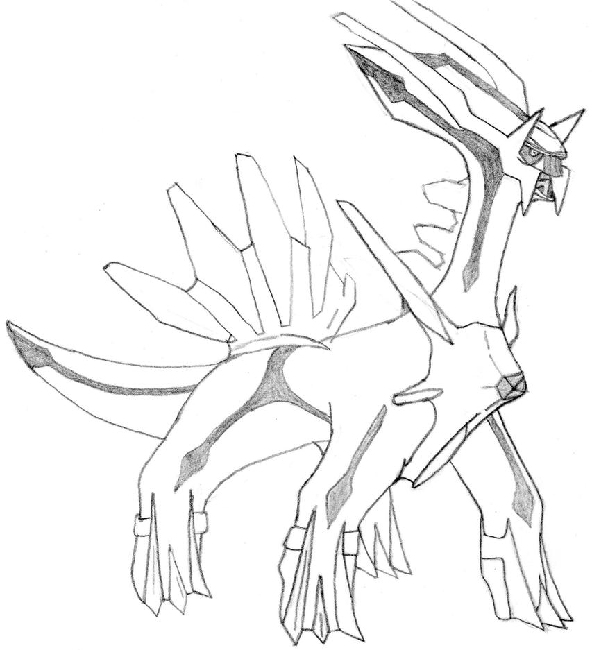 Dialga coloring pages the image kid has it for Dialga coloring pages