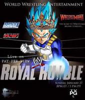 Toon WWE Royal Rumble Poster