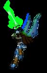 Raziel [Legacy of Kain] + SPEED PAINT by AzureDragonOfNether