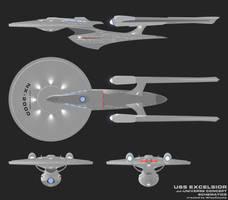 JJ-Excelsior schematics by trekmodeler