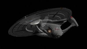 Enterprise-E in flight