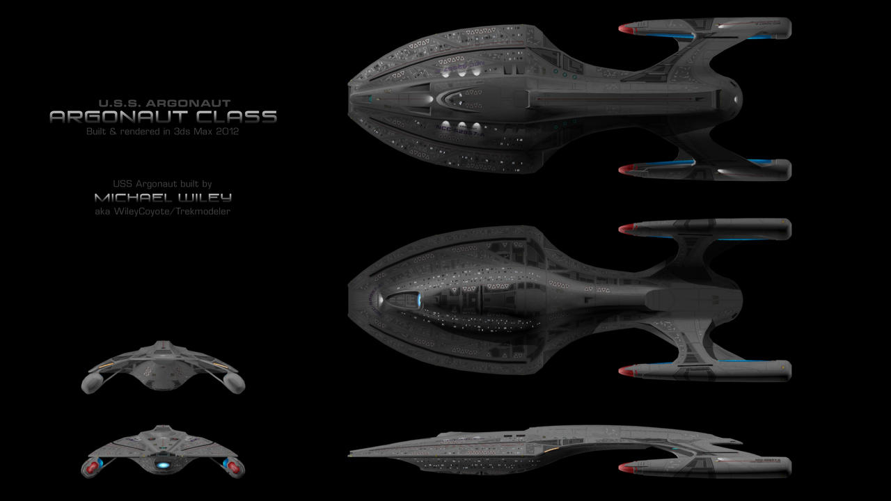 USS Argonaut Orthos By Trekmodeler On DeviantArt