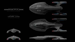 USS Argonaut orthos by trekmodeler