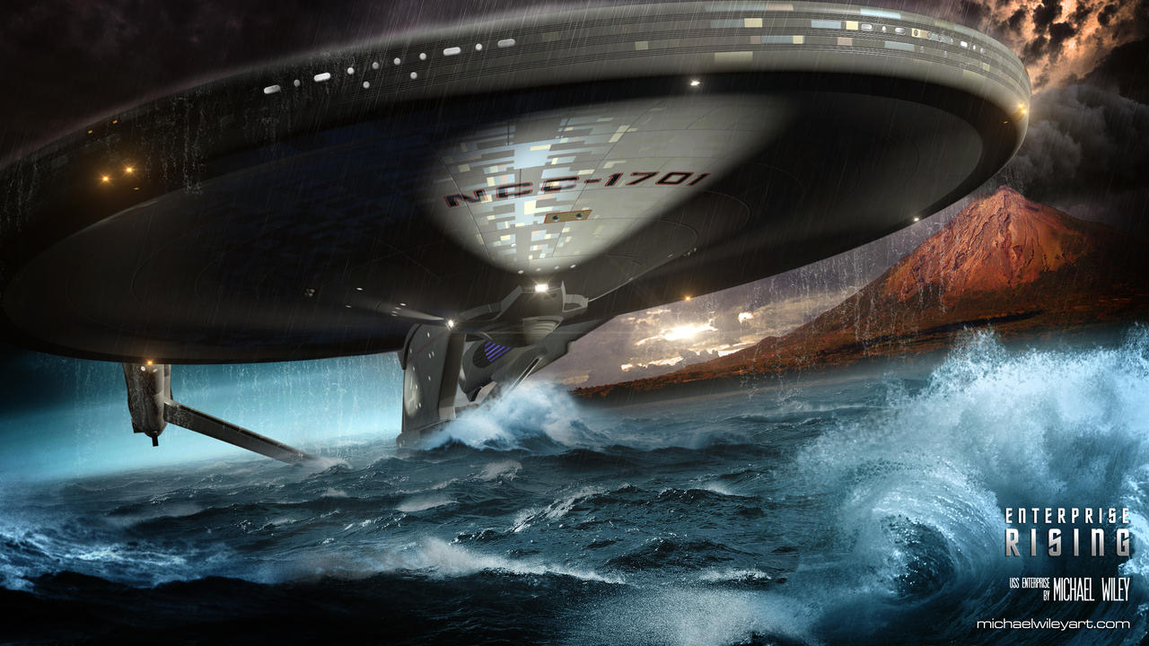 Enterprise Rising by trekmodeler