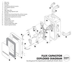 Flux Capacitor Exploded Diagram