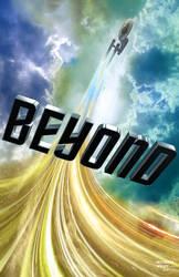 Star Trek Beyond Teaser Poster - TOS style by trekmodeler