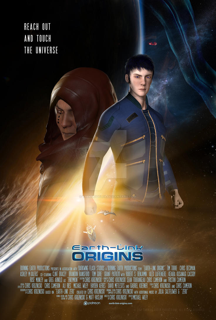 Earth-Link Origins Poster 1 by trekmodeler