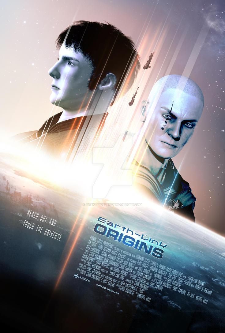 Earth-Link Origins Poster 2 by trekmodeler