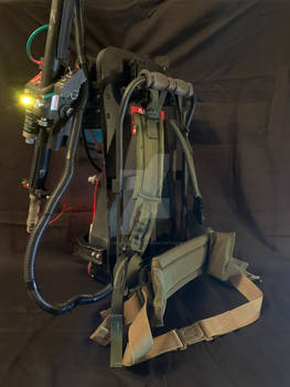 Ghostbusters Proton Pack- backside