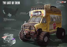The last of us (parody) vehicle design 1 by seansamson