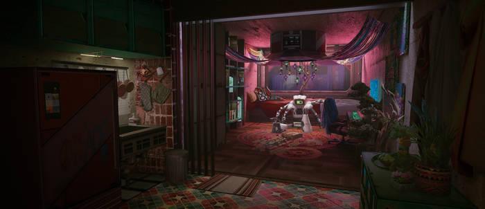 Towercity - Bedroom