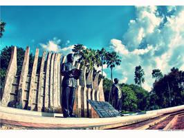 SoekarnoHatta.Statue